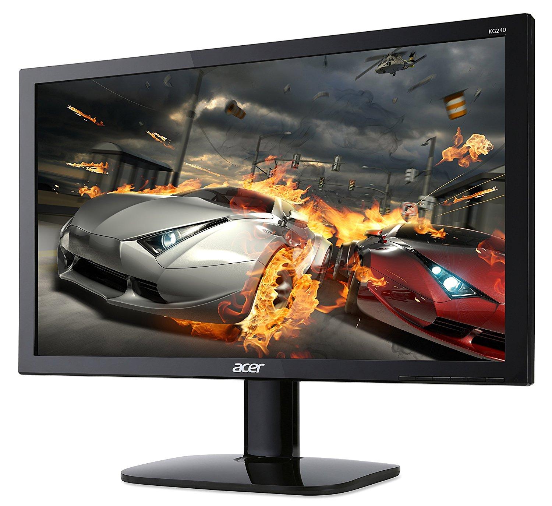 黒の強弱を調節可能!PS4向けゲーミングモニター『Acer KG240bmiix』