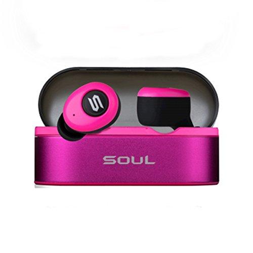 フレッシュなピンクがキュート完全ワイヤレスイヤホン『SOUL ST-XS』