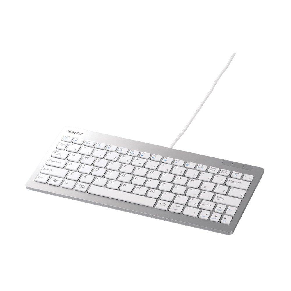 コンパクトでおしゃれPS4向けUSBキーボード『バッファロー BSKBU13』