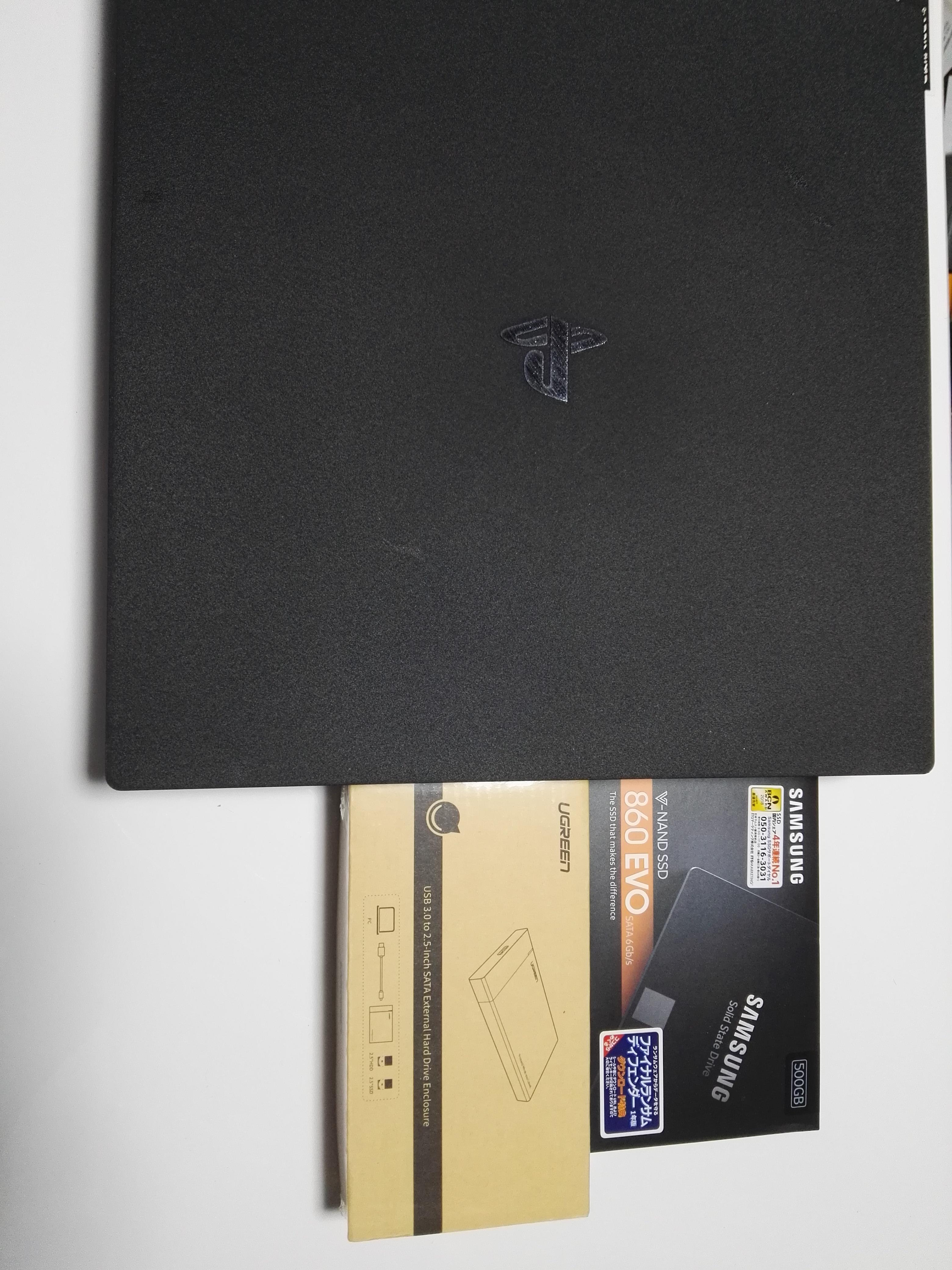 PS4 SSD 換装の手順