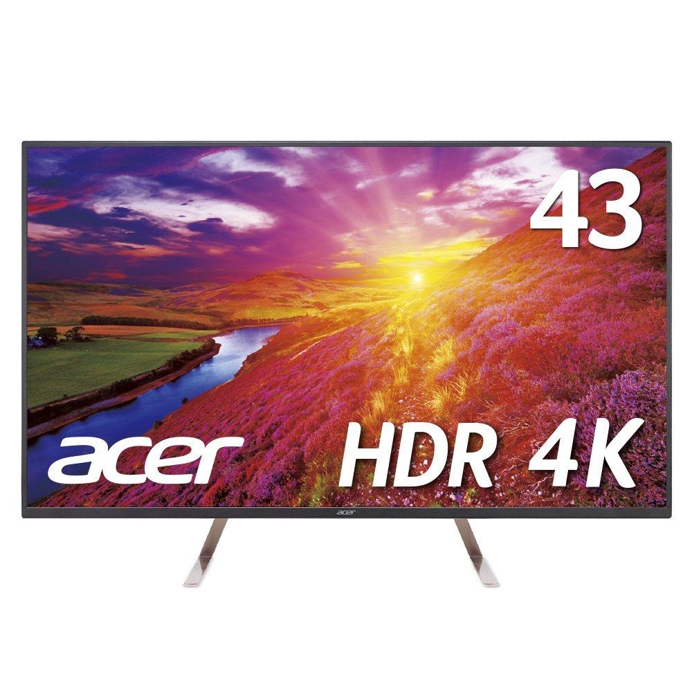 PS4Proにおすすめ!Acer4Kモニターディスプレイ43インチが59,800円