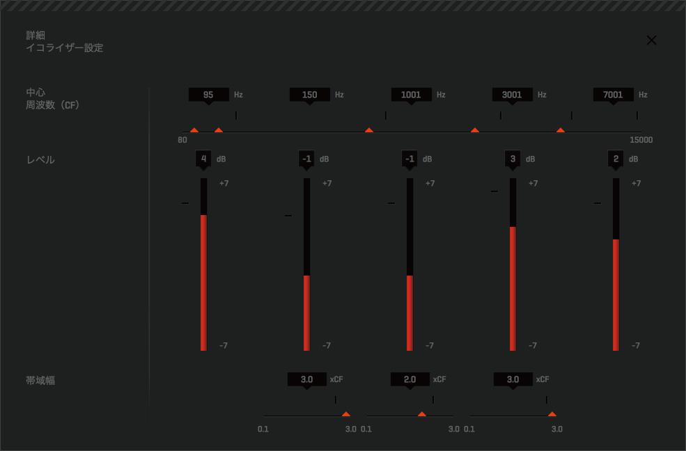 コール オブ デューティ(CoD)向けイコライザ「Beastmode 2.1[L]DOLBY ON」
