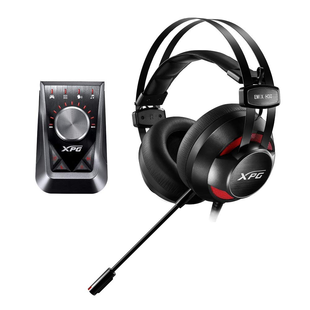 XPG EMIX H30ヘッドセット + SOLOX F30アンプ