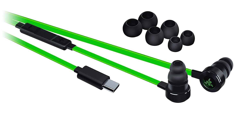 音色透明・重低音なゲーミングイヤホンRazer『Hammerhead USB-C』