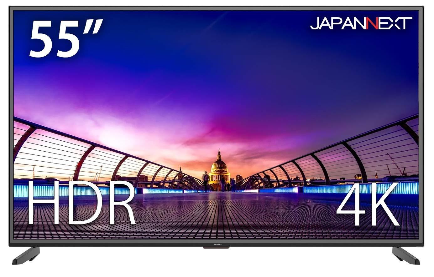 約7万円!PS4Pro向け55型4K/HDRモニター『JAPANNEXT JN-V5500UHDR』