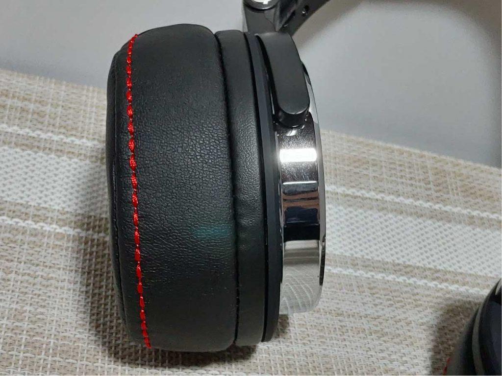 OneOdio Pro-50 イヤーパッドの厚さ3cm