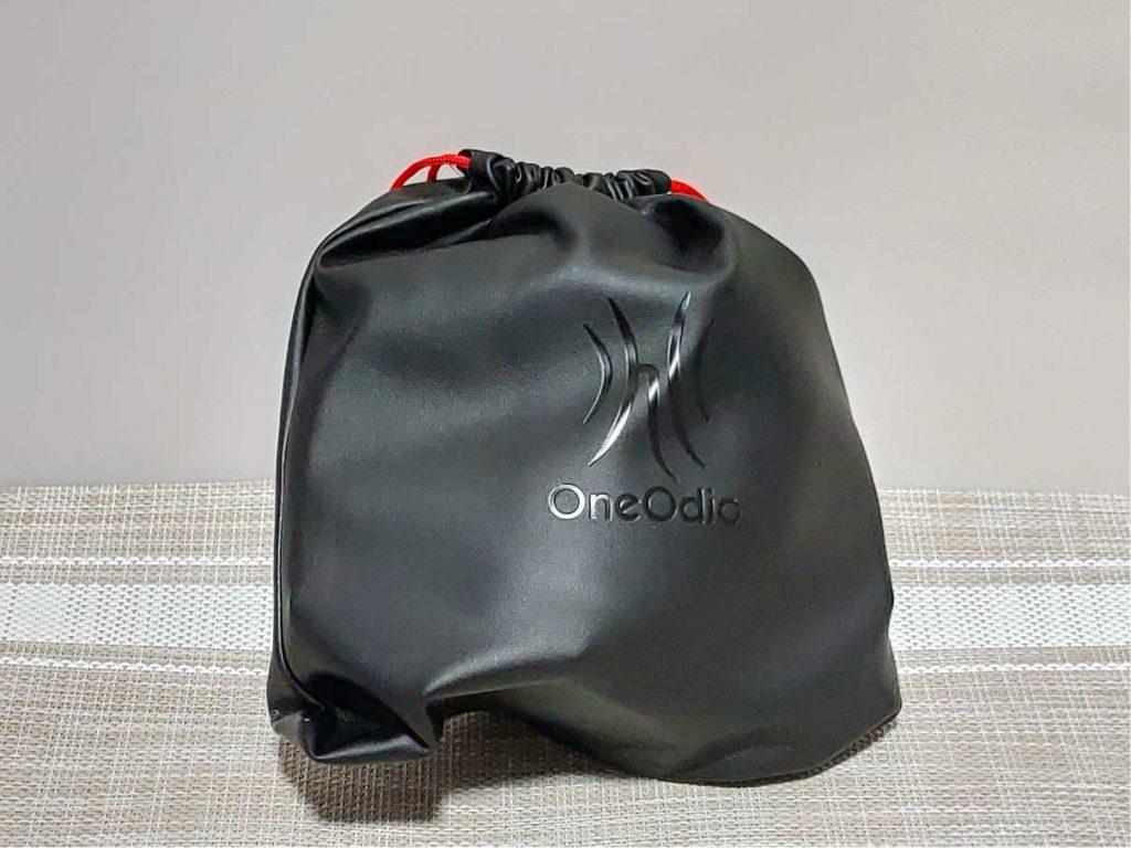 OneOdio Pro-50を収納袋に入れた状態