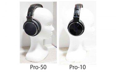 OneOdio『Pro-50』と『Pro-10』の違い・比較