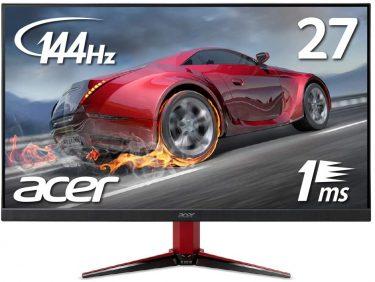 Acer フルHD/144Hz ゲーミングモニター