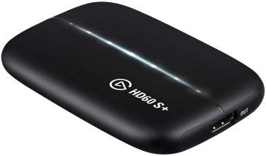 [PS4 Pro]Elgato「HD60 S+」フルHD/60fpsキャプチャ&4Kパススルー