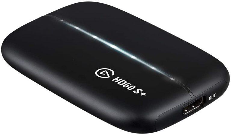 [PS4]Elgato「HD60 S+」フルHD/60fpsキャプチャ&4Kパススルー