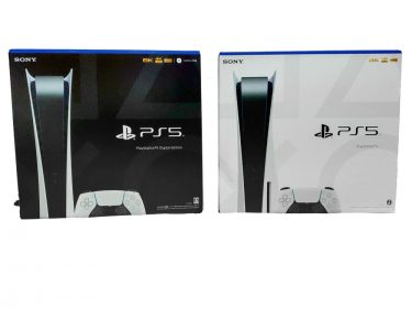 『PS5』ベースモデル(通常版)とデジタルエディションの違いとは?比較